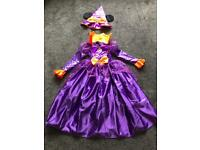 Disney Mini Mouse Halloween Costume aged 7-8