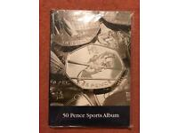 Complete Set 50 Pence Sports Album (Lighthouse)