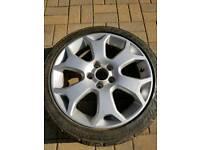 Vauxhall Meriva VXR wheel