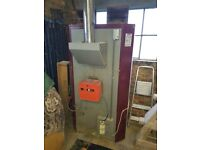 Ambi rad (Now Reznor) VCH 100 oil fired hot air heater.