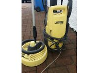 Karcher pressure washer with atachments