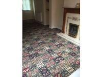 Large carpet good condition.
