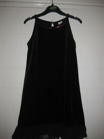 All Occasion Little Black Dress Age 5-6 BEAUTIFUL SIMPLE & ELEGANT +complementary balero NOW REDUCED