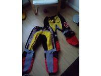 Fox Racing mountain bike downhill enduro trousers 2 matching pairs