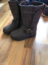Mothercare toddlers brown boots