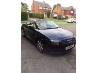 Audi TT Convertible, low mileage and in excellent condition