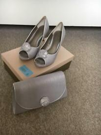 Jacques vert shoes size 6 and matching bag