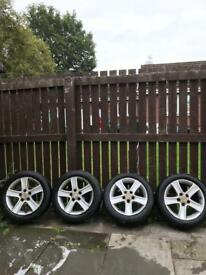 Mazda 6 sport alloy wheels and snow tyres