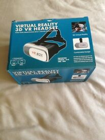 Virtual Reality 3D VR Headset