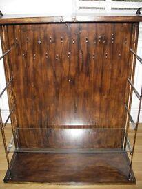Wooden jewellery/handicrafts cabinet