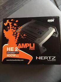 Hertz 400w amplifier