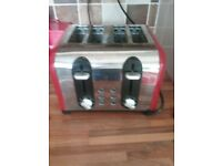 Russell Hobs 4 slice toaster