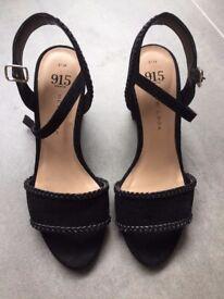 New Look 915 Black Party sandals/shoes - Size 3 (Eur 36)