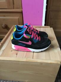 Nike Air Max girls size 2
