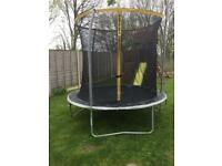 8 ft Trampoline with Enclosure