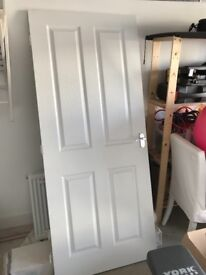 NEW Four panel white internal door £30 ono