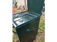 Electrolux green 50 cm gas cooker