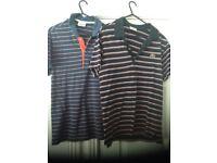 LACOSTE men's polo shirts, size 2