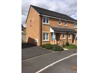 £725 PCM 3 Bedroom new build house to rent, White Farm, Barry