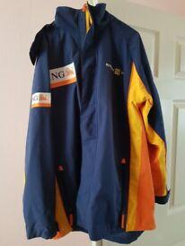 F1 Renault ING Jacket Size XL With Hood Rare Formula One Clothing Memorabilia