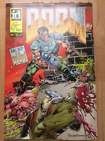 DOOM #1 May 96 Knee Deep In The Dead ID GT Interactive Software VERY RARE !!