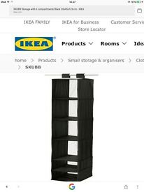 Brand new IKEA hanging storage compartments ( SKUBB)