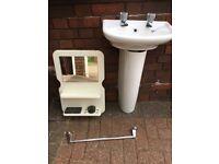 Small wash hand basin