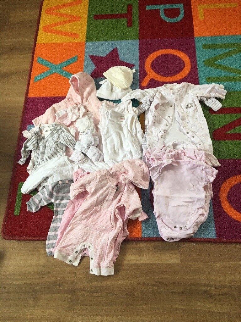 Newborn Baby Girl Clothes Bundle In Aberdeen Gumtree