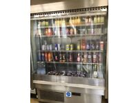 Open Multi deck drinks/food chiller. Working condition.