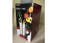 Brand New Cooker & Blender- Silver Crest (Cook n Mix)