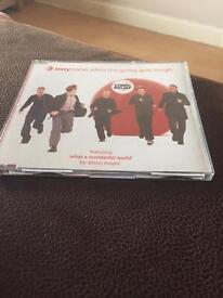 Boyzone when the going gets tough cd single