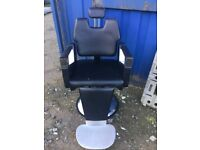 Barbers chair in good used condition,some marks (photos) all working parts.