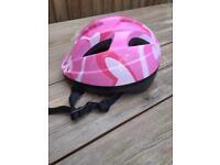 Girls cycle helmet