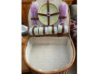 Vintage picnic basket with accessories £35