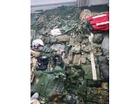 Army military accessories job lot