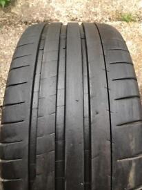 Michelin pilot super sport 225/35/19 X2