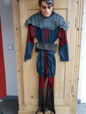 Skywalker ~ 4-teilig ~ Gr. L ~ 8-12 Jahre  Kinder Kostüm  (Star Wars Anakin Skywalker Kostüm)