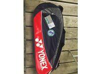 Yonex Badminton Racket Bag - Brand New