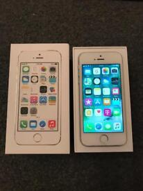 iPhone 5S 16GB Factory Unlocked Silver