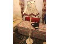 Free standing tall front room lamp