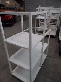 7 SECTION CUBE DISPLAY STAND SHOP/STORE/MARKET /ENTRANCE / WHITE