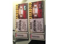 2 LEEDS FESTIVAL WEEKEND WITH CAMPING TICKETS