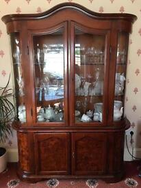 Mahogany drinks cabinet.