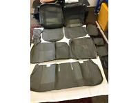 PVC Leather Seat Covers , Protectors For TOYOTA PRIUS XW20 XW30 2005 to 2015 in Grey