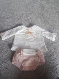 Baby Girl Designer Clothes Newborn/1 month