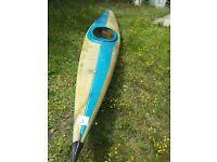 kayak, canoe, boat, by Kirton kayak ltd, made in England