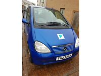 Mercedes BenzA [Automatic] [Low Mileage ] [Sold as spares or repairs]