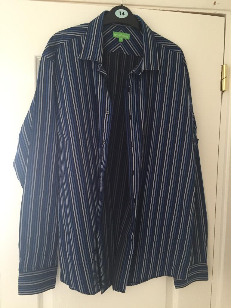 """17"""" shirtin Gillingham, KentGumtree - 17"""" shirt like new just too small for my husband now collection only"""
