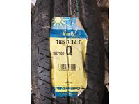 Tyre ,wheel , 185 r 14 c 102/100 q