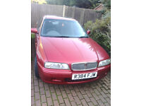 Rover 620 si (red) 2litre manual . Amazing condition for year . Mot Feb 2017. £395